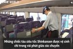 Kỹ thuật vệ sinh cả đoàn tàu trong 7 phút của người Nhật Bản