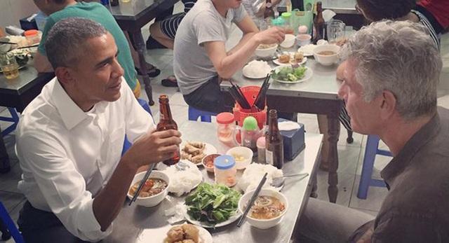Khi các Nguyên thủ Thế giới cũng đam mê món ăn đường phố Việt Nam-6