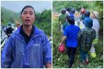 Clip: Khoảnh khắc cứu sống người bị chôn vùi do sạt lở núi ở Quảng Nam-2