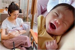 Pha Lê stress nặng sau sinh, lớn tiếng quát con gái 'Mày im đi'