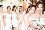 Nhã Phương đẹp 'lấn lướt' cô dâu khi đi dự đám cưới