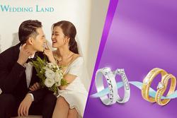 Rinh nhẫn cưới kim cương Wedding Land chỉ từ 6 triệu đồng