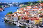 Thành phố nhiều màu sắc ở Bồ Đào Nha