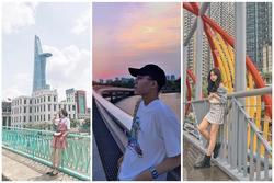 Có ngay 7749 kiểu ảnh sống ảo tại những cây cầu nổi tiếng nhất Sài Gòn