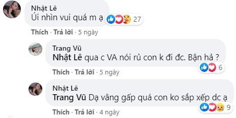 Chỉ 1 bình luận dạo, Nhật Lê để lộ mối quan hệ với người thân Quang Hải-2