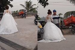 Clip: Đang làm lễ cưới thì shipper gọi, cô dâu quyết 'bùng' chú rể chứ không 'bom hàng'