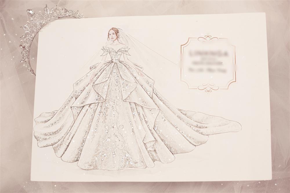 Cận cảnh 3 bộ váy cưới hơn 28 tỷ giúp Xoài Non lộng lẫy như công chúa trong ngày cưới Xemesis-11