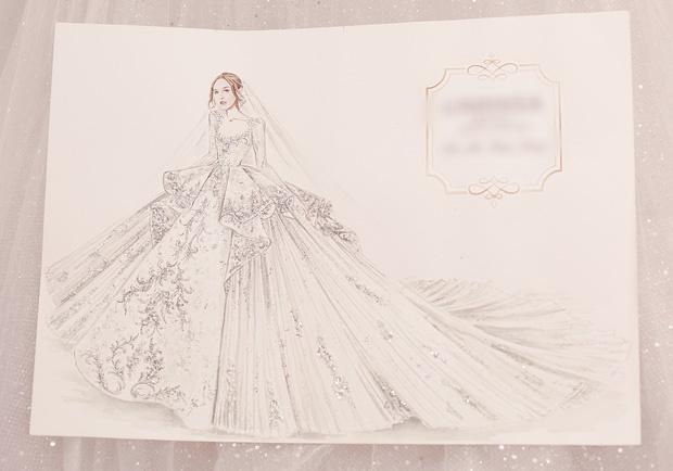 Cận cảnh 3 bộ váy cưới hơn 28 tỷ giúp Xoài Non lộng lẫy như công chúa trong ngày cưới Xemesis-2
