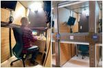 Khách sạn con nhộng được biến thành văn phòng làm việc tại Nhật Bản-1