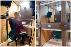 Khách sạn con nhộng ở Nhật thành văn phòng cho thuê theo giờ