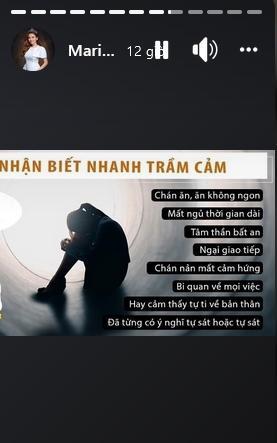 Hoa hậu Diễm Hương treo status trầm cảm lúc nửa đêm-5
