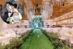 Không gian tiệc cưới siêu đắt đỏ của Công Phượng và con gái giám đốc ngân hàng