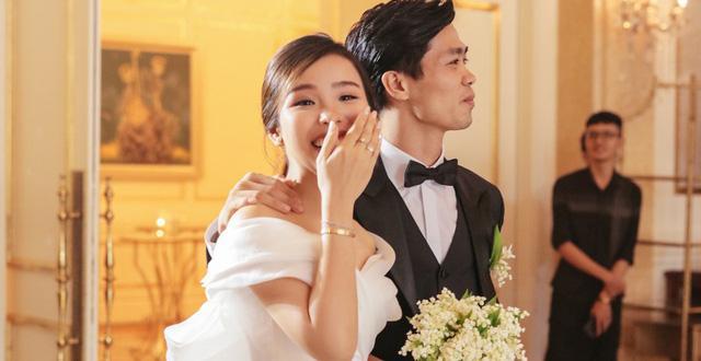 Chi tiết đặc biệt trong đám cưới Công Phượng, thế mới thấy chân sút Nghệ An yêu vợ cỡ nào-1