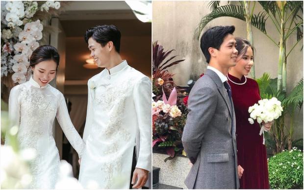 Cô dâu Viên Minh mặc áo dài hồng cánh sen tưởng không xinh mà xinh không tưởng-7