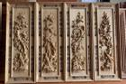 9 mẫu tranh gỗ treo tường phòng khách đẹp, hợp phong thủy