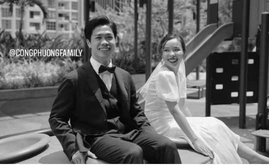 Ngắm trọn ảnh cưới chưa công bố của Công Phượng, cô dâu Viên Minh vừa sang vừa xinh-1