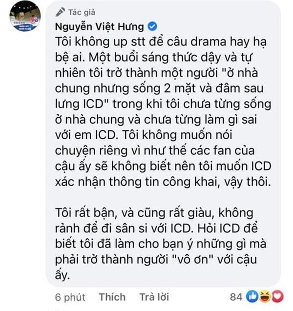 Vừa đăng quang King Of Rap, ICD đã bị Rica lẫn Chị Cả tố cáo sống 2 mặt, đặt điều-3