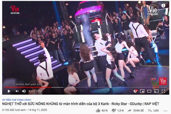 Vướng tranh cãi căng đét, sân khấu của MCK và Justatee leo thẳng Top 2 Trending YouTube-5