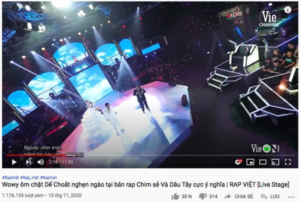 Vướng tranh cãi căng đét, sân khấu của MCK và Justatee leo thẳng Top 2 Trending YouTube-9