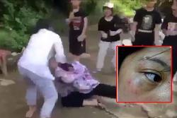 Clip: Nữ sinh lớp 8 bị nhóm bạn 'quây' kín, đánh hội đồng dã man ở Thanh Hóa
