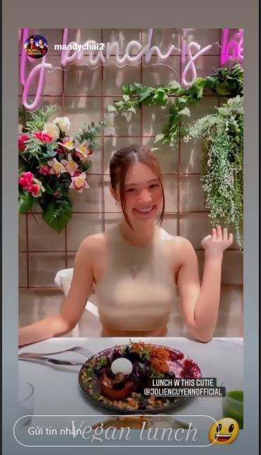 Jolie Nguyễn liên tục xuất hiện tươi như hoa sau ồn ào chấn động-2