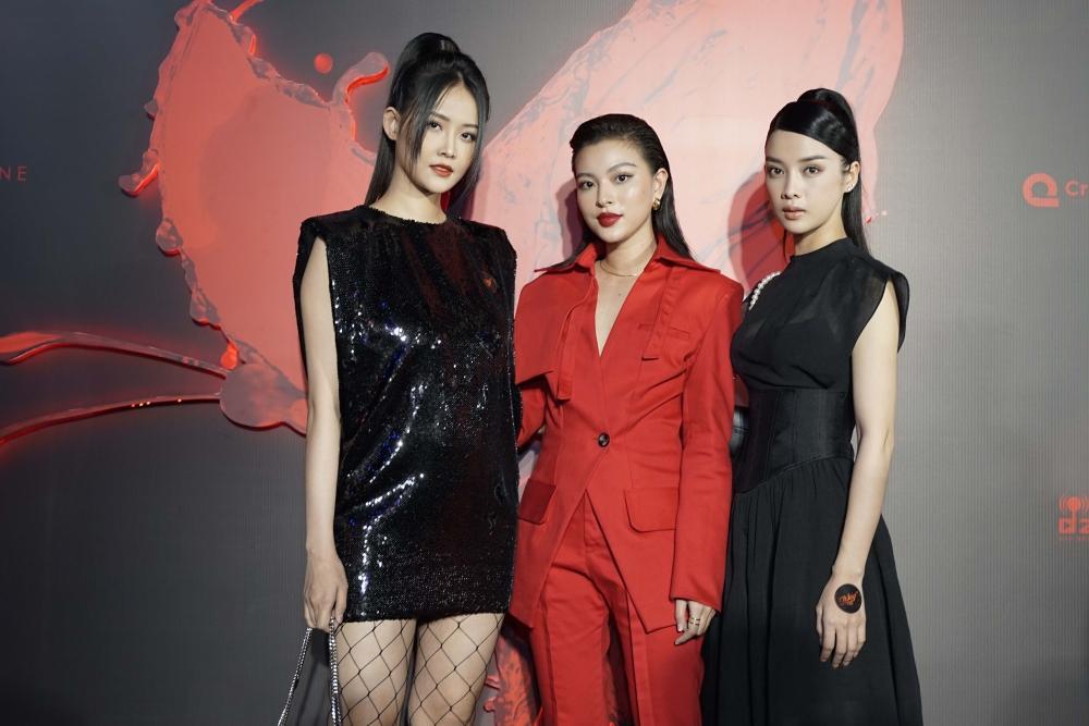 Ngọc Trinh và Ngọc Lan nổi bật giữa dàn khách mời đỏ đen vì mặc sai dresscode-10