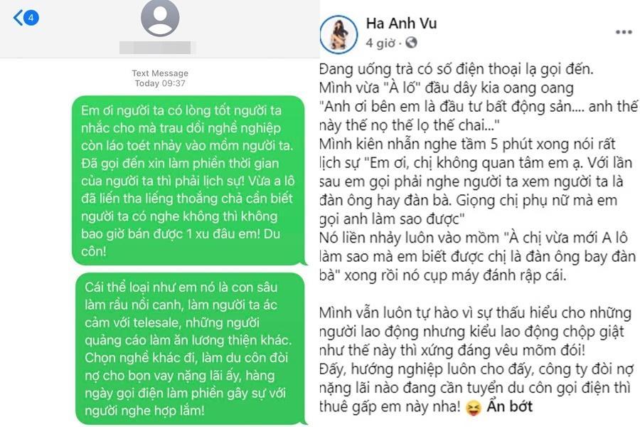 Hà Anh gay gắt mắng nhân viên tư vấn bất động sản: Du côn láo toét-3