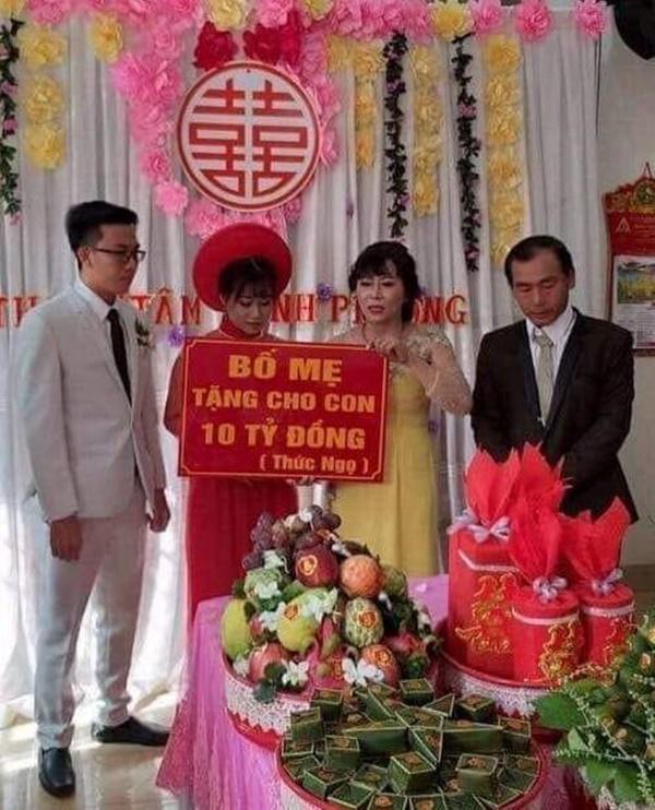 Điểm mặt loạt quà mừng cưới thiên hạ đệ nhất dị khiến cô dâu chú rể khóc dở mếu dở-4