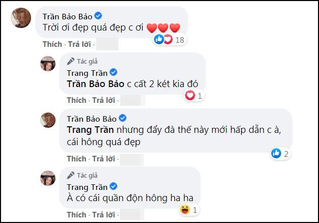 Khoe body cực sexy, Trang Trần để lộ tiểu xảo khó đỡ-6