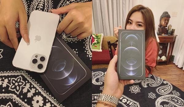 Không hứa suông, Tống Đông Khuê tặng bạn gái iPhone 12 Pro Max siêu xịn-2