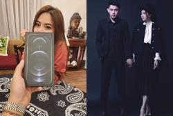 Không hứa suông, Tống Đông Khuê tặng bạn gái iPhone 12 Pro Max siêu xịn