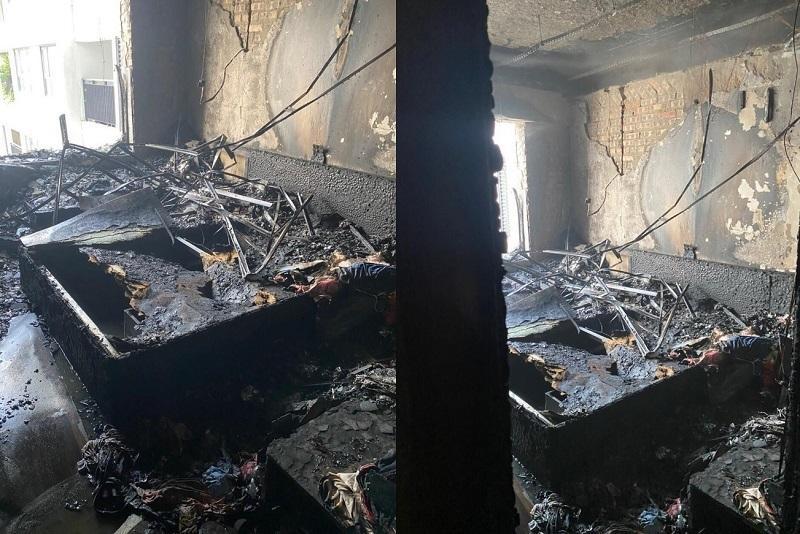Clip: Cháy chung cư Goldmark City, tầng 29 bị lửa thiêu rụi-1