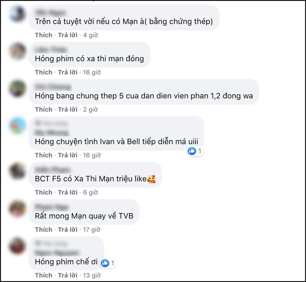 Rộ tin đồn Xa Thi Mạn về TVB làm Bằng chứng thép phần 5, cư dân mạng háo hức đón chờ Madam Mã-6