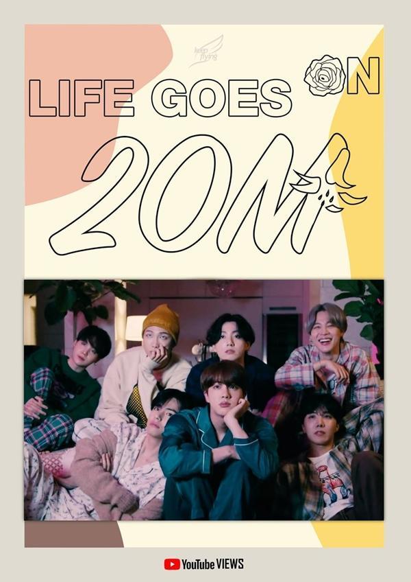 Life Goes On kéo dài thành tích khủng dù vẫn bị Dynamite bỏ xa cả cây số-2