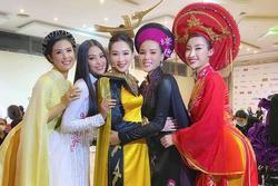 Khoảnh khắc hiếm khi 5 Hoa hậu Việt Nam cùng khoe sắc