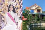 Thăm nhà Hoa hậu Việt Nam 2020 Đỗ Thị Hà: To đẹp nhất xã, sân vườn trồng đầy hoa lan