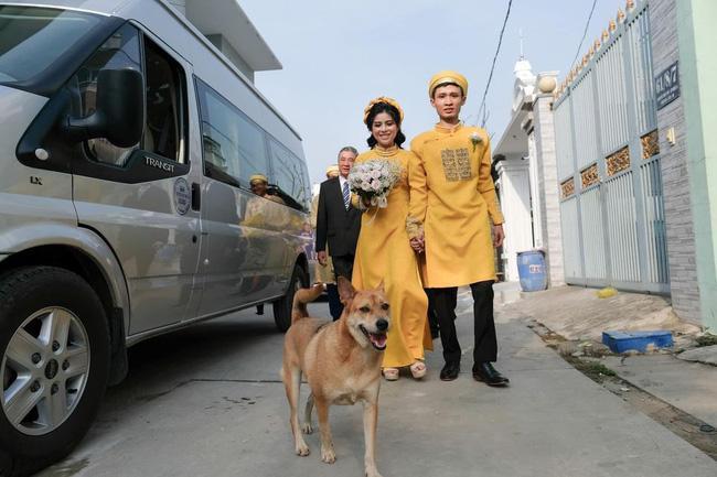 Biểu cảm hớn hở của chú chó vào ngày chủ kết hôn gây bão mạng xã hội, lý do khiến ai cũng gật gù-3