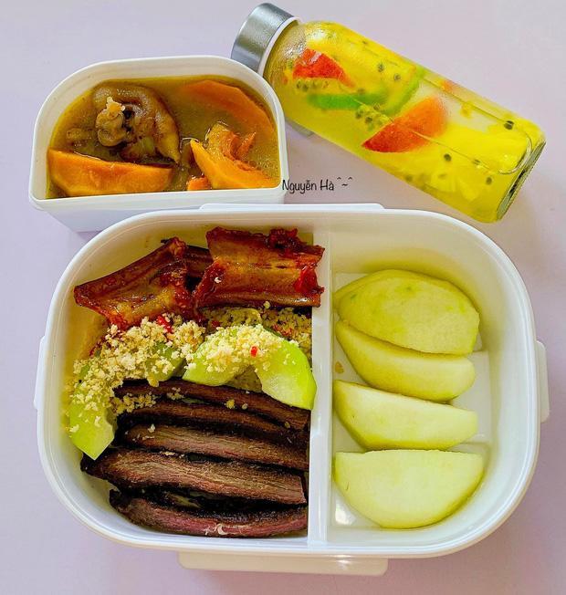Cô giáo mầm non chăm mang cơm đi làm dù trường có canteen, tiết lộ mỗi hộp đều vô giá vì lý do đặc biệt-4