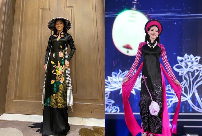 Áo dài trong chung kết Hoa hậu Việt Nam 2020 bị tố đạo nhái ý tưởng-5