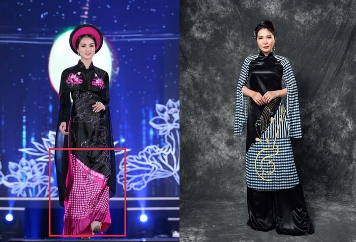 Áo dài trong chung kết Hoa hậu Việt Nam 2020 bị tố đạo nhái ý tưởng-6