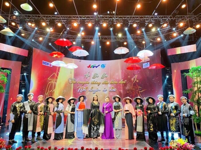 Áo dài trong chung kết Hoa hậu Việt Nam 2020 bị tố đạo nhái ý tưởng-8