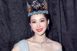Đặng Thu Thảo gây ngỡ ngàng khi đội thử vương miện Hoa hậu Thế giới