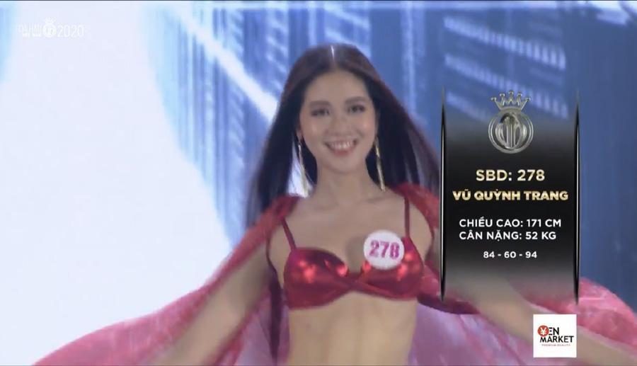 LẠ LÙNG: Số đo nhân trắc học của thí sinh Hoa hậu Việt Nam 2020 phồng xẹp bất thường qua 3 vòng thi-3