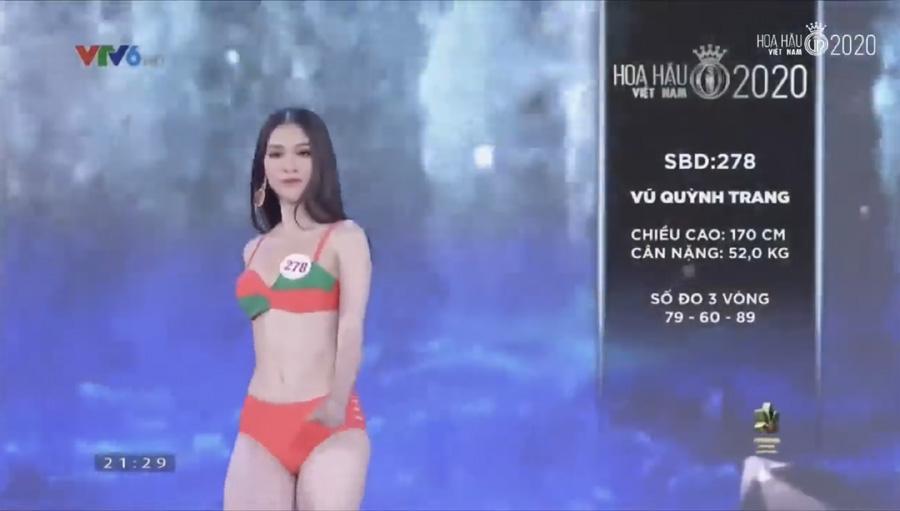 LẠ LÙNG: Số đo nhân trắc học của thí sinh Hoa hậu Việt Nam 2020 phồng xẹp bất thường qua 3 vòng thi-2
