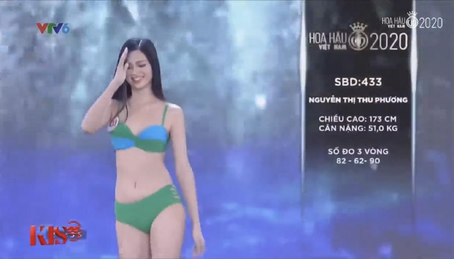 LẠ LÙNG: Số đo nhân trắc học của thí sinh Hoa hậu Việt Nam 2020 phồng xẹp bất thường qua 3 vòng thi-16