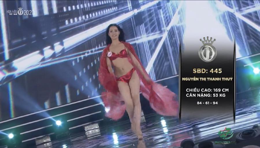 LẠ LÙNG: Số đo nhân trắc học của thí sinh Hoa hậu Việt Nam 2020 phồng xẹp bất thường qua 3 vòng thi-19