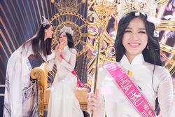 Tiểu Vy viết tâm thư gửi tân hoa hậu Đỗ Thị Hà: 'Sắc đẹp, trí tuệ của em sẽ làm vương miện lung linh hơn'