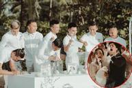 Tiết lộ giá phong bì dàn cầu thủ mừng cưới Công Phượng - Viên Minh