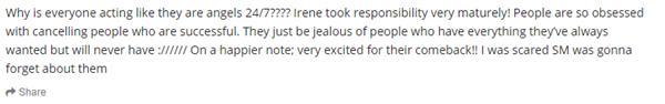 Netizens Hàn chiến nhau sứt đầu sau tin Red Velvet comeback đủ 5 thành viên-7
