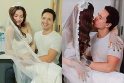 Hồ Ngọc Hà lên tiếng đính chính về bộ ảnh cưới với Kim Lý đang được lan truyền trên mạng xã hội